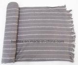 Colorinterwoven Vertial Streifen-Stola/Unisexschal (HWBVS345)