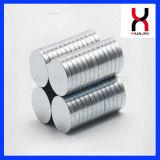 Gesinterter NdFeB Magnet der Qualitäts-6*3mm Neodym