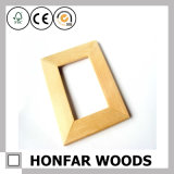 Frame de retrato natural da madeira contínua que molda para a decoração