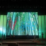 Pantalla de visualización de alta resolución de interior de LED del vídeo del alquiler P4