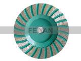 Непрерывное колесо чашки оправы для молоть гранита