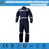 帯電防止オイルの抵抗力がある炎-抑制Aramidの油田の給油所の消防士のつなぎ服