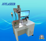 Automatischer 360 Grad, der Laser-Markierungs-Maschine der Faser-10W dreht