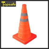 برتقاليّ قابل للتوسيع حركة مرور مخروط
