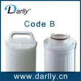 alta Flowment cartuccia di filtro dalla fibra di vetro di 50um