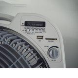 27W de Navulbare Ventilator van de Lijst DC/AC van 12 Duim