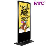 55 Zoll-geöffneter Zellen-ultra dünner DigitalSignage der LCD-Bildschirmanzeige und des Touch Screen