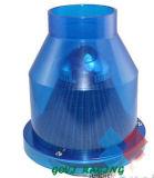 Chromierte 3in Automobil-Luftfilter-Auto-Luft Cleane Peroformance allgemeinhin für Lufteinlauf-Rohr