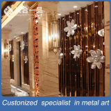 Parete divisoria di alta qualità dell'acciaio inossidabile dello specchio della decorazione di Custmoized