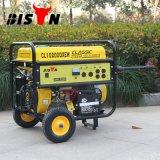 バイソン((h) 3kw 3kVA Electirc中国) BS4500sの開始1年の保証無声携帯用電気ガソリン発電機