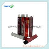 Tube en aluminium mou d'emballage pour la crème de couleur des cheveux