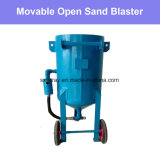 Eficacia alta del mueble de arena del explosionador del arenador barato abierto eficiente de la arena