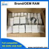 Штока RAM DDR2 компьтер-книжки 128mbx8 2GB 800 Ecc Non Unbuffered