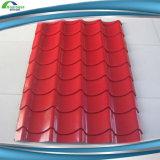 лист волнистого железа цвета крыши цинка 0.18mm гальванизированный листом