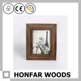 Het klassieke Bruine Houten Frame van de Foto van het Beeld voor de Decoratie van het Huis