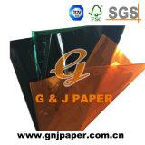 Papel celofán de colores utilizados para el embalaje de regalo
