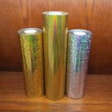 Película de transferencia de calor de estampación de papel de aluminio para el envase de la botella de maquillaje