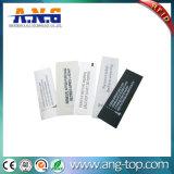 Etiqueta passiva tecida da roupa de RFID para a gerência da roupa