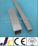 Pipes carrées en aluminium, pipe en aluminium anodisée (JC-P-82003)