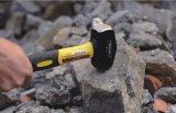 4lb a modifié le marteau de club d'acier du carbone lapidant le marteau avec le traitement de fibre de verre