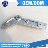 Componentes industriais de alumínio feitos à máquina CNC