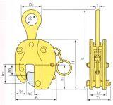 Outil de main de levage vertical 1.6ton