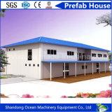 Modulaire Huis van het Huis van het Geprefabriceerd huis van de goede Kwaliteit het Rekupereerbare Prefab van de Structuur van het Staal van de Kleur voor het Tijdelijke Leven