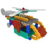 1488728-2 1輸送の航空機のヘリコプターのブロックキットリモート・コントロールRCのブロックで教育の創造的なおもちゃ-任意カラーセットしなさい