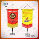 Флаги вымпела треугольника сверла сатинировки изготовленный на заказ