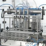 Линейный тип машина для прикрепления этикеток машины 3L-10 моя заполняя покрывая
