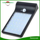 42LED lumière solaire, garantie allumant la lumière imperméable à l'eau extérieure de détecteur de mouvement pour le jardin, patio, clôturant, voie