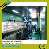 Máquina de secado de esterilización de microondas de té de flores de acero inoxidable