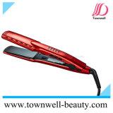 Straightener rápido do cabelo do diodo emissor de luz do salão de beleza profissional com íon Generator&Lock