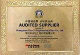 Pp.-Polypropylen-Plastikstahlfaser-Faser mit ISO, SGS-Bescheinigung Uesd für Baumaterial