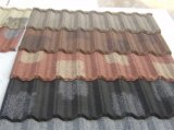 Folha ondulada revestida revestida da telha de telhadura da pedra colorida/telhadura da pedra