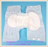 Couches adultes d'indicateur d'humidité pour l'incontinence