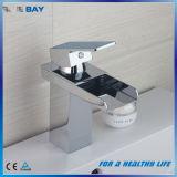 Robinet en laiton de bassin de chrome de la CE pour la salle de bains