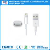 O cabo 2.1A do USB jejua cabo do carregador para o relâmpago