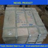 Alta 99.9% placa de níquel resistente a la corrosión del Ni 201 200
