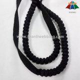 12mm pp neri ha piegato la tessitura elastica per i guinzagli dell'animale domestico di bufferizzazione