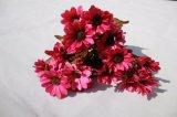 絹の人工的なヒナギクによってはホーム装飾のアクセサリのための擬似花が開花する