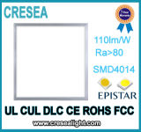 luz de painel listada do diodo emissor de luz 110lm/W do UL Culdlc de 1X2FT 2X2FT 2X4FT com 0-10V Dimmable