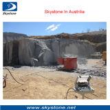 O fio do diamante viu a máquina para a pedreira do Sandstone do granito