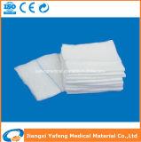 Esponja disponible no estéril de la gasa del uso con diversas tallas