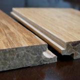 Het hand Geschaafde Bundel Geweven BinnenGebruik van de Vloer van het Bamboe