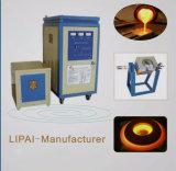 Tipo pequeno fornalha de derretimento de alta freqüência do aquecimento de indução para o titânio/prata/ouro
