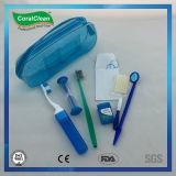 Kit oral del cuidado del cepillo de dientes de bambú ortodóntico de Chaocoal