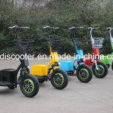 料金のセリウムごとの55kmの範囲は3つの車輪の電気スクーターのZappyスクーターを証明した