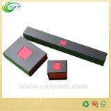 Rectángulo de papel de la cartulina cuadrada, rectángulo de empaquetado del reloj de cuero (CKT-CB-761)