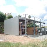 低価格のプレハブの鉄骨構造の保管倉庫
